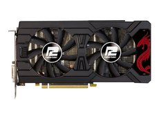 PCI-E 4GB ATI Radeon RX570 PowerColor Red Dragon DVI HDMI