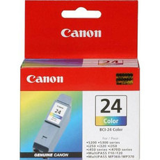 Canon BCI-24C iP1500/iP2000 i350-470d S300 MP110/130/390