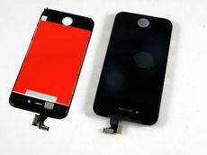 Apple iPhone 4/4G Display mit Touchscreen schwarz