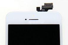 Apple iPhone 5S Front Glas Scheibe Touch Komplettset weiß