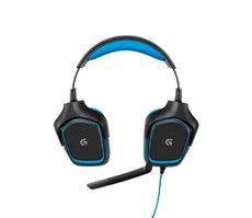 Headset Gaming Logitech G430 7.1 blau/schwarz PS/4 & PC bulk