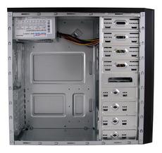 Midi Gehäuse LC-Power 7024B 420W  USB3.0 schwarz/silber