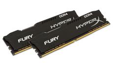 DDR4  8GB PC2133 KINGSTON HyperX Fury Black Series 2x4GB