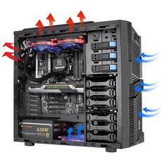 Midi Gehäuse Thermaltake Commander G42 ATX Front USB