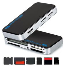 Multi Reader extern USB3.0 All in One Compact Flash MicroSD