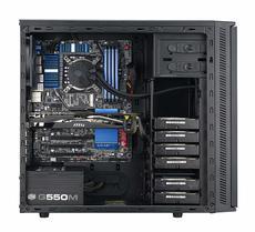 Midi Gehäuse CoolerMaster Silencio 452 USB3.0 schwarz