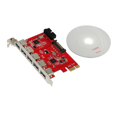 USB HUB 5 Port intern PCI-E USB 5 +1 intern USB3.0 AC319