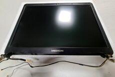 Display für Notebook Medion® S5610 mit Rahmen und Kabeln Gebrauchtartikel
