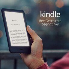 Kindle 2019 schwarz integriertem Frontlicht
