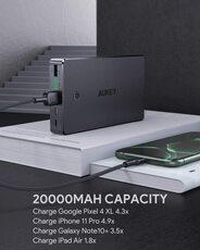 Powerbank Aukey 20000mAh 2Ports Iphone Samsung