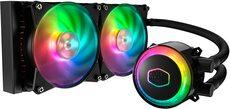 Kühler CPU AMD/Intel Wasserkühlung Coller Master ML240R RGB