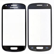 Samsung Galaxy S3Mini i8190 Front Glas Display schwarz