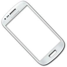 Samsung Galaxy S3Mini i8190 Front Glas Display weiß