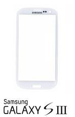 Samsung Galaxy S3 i9300 i9305 Front Glas Display weiß