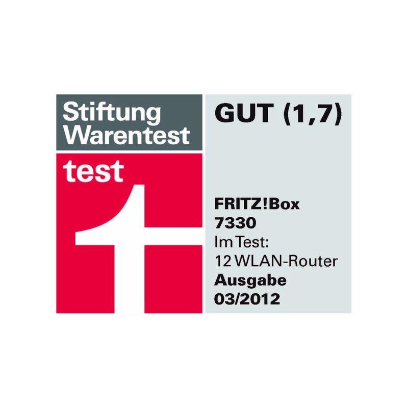 Wlan 300 mbit avm fritz box 7330 router adsl mediaserver - Fritzbox 7330 login ...