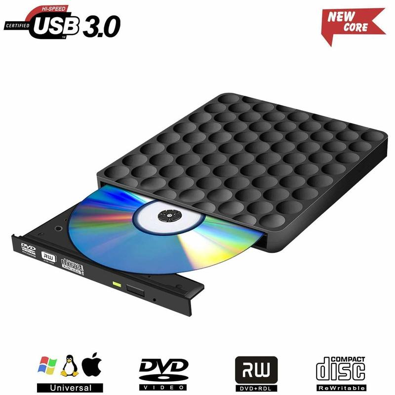 externer dvd brenner schwarz usb dvd rw. Black Bedroom Furniture Sets. Home Design Ideas