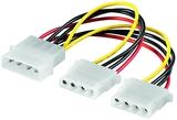 Kabel Strom Y-Verteiler 1x 13,3cm (5,25)