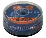 DVD-Rohlinge -R  4,7 GB Platinum 25er 16x