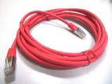 Netzwerkkabel TP/RJ45 Cat.6  3m rot