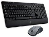 Tastatur+Mouse Logitech Cordless MK520 qwertz
