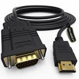 Kabel HDMI > VGA 1,8m m/m HDMI Monitor an VGA 15pin