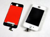 Apple iPhone 4/4G Display mit Touchscreen weiß