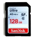 128GB SDXC Card SanDisk Ultra