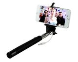 Selfie Stick Stange mit Audiokabel Android & Iphone grün