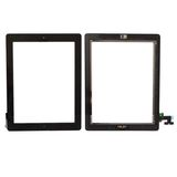Apple Ipad 4 LCD Display Touch Screen Glas Komplett schwarz
