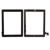 Apple Ipad 4 LCD Display Touch Screen Glas Komplett schwarz