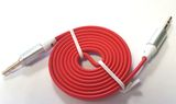 Kabel Sound Stecker-Stecker 3,5mm Klinke rot Audio Video
