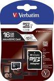 16GB SDHC Micro Card Verbatim Class 10