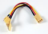 Kabel Strom Y-Verteiler Lüfter Molex
