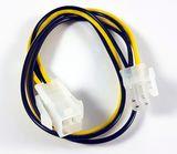 Kabel Strom Grafik Verlängerung 4pol 0,2m Stecker/Buchse