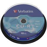 CD-Rohlinge Verbatim 52x 10er