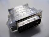 Adapter DVI (m) -> 15pol SUB-D (w) DVI-I