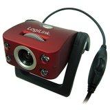 Webcam LogiLink 1,3MP rot Internetkamera Ausstellungsstück