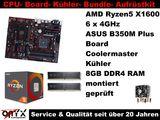 Bundle ASUS Board+ AMD Ryzen5 + 8GB DDR4 +Kühler
