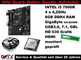 Aufrüstkit Bundle Kit Intel i5 7600K +GigaByte Board+8GB