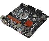 Board S1151 AsRock H110M-DVS 3.0 2xDDR4 USB3.0 GBL 7.1 DVI
