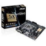 Board S1151 ASUS H110M-D 2xDDR4 4xSATA3 USB3.0 HDMI VGA GBL