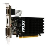 PCI-E 2GB GF N710 MSI DDR3 HDMI DVI VGA 4096x2160
