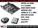 Aufrüstkit Bundle Kit Intel i5 3,3GHz ASROCK Board +8GB DDR3