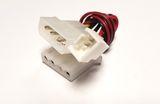 Adapter Strom Kühler Y 1x 3polig auf 2x Molex (4pin)