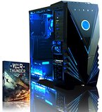 PC A4 Gaming VIBOX 3,8GHz 8GB 1TB Radeon R7 grün W10 USB3.0