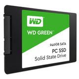 Flash SSD 240GB WD Green  SATA3 6Gb/s WDS240G2G0A