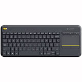 Tastatur Logitech Wireless Touch Keyboard K400 Plus schwarz