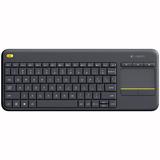 Tastatur Logitech Wireless Touch Keyboard K400 Plus schwarz Ausstellungsstück