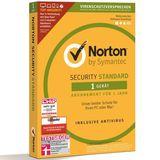 AntiVirus Norton Security Standart 1Gerät 1 Jahr