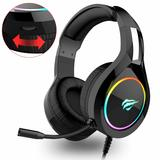 Headset Gaming Havit PS4 Xbox PC Mac Handy RGB Rauschunterd.